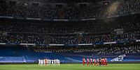 12th September 2021; Estadio Santiago Bernabeu, Madrid, Spain; La Liga, Real Madrid CF versus RC Celta de Vigo; Minute of silence in honor of the victims of COVID