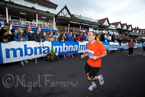 09 SEP 2011 - CHESTER, GBR - Gary Donovan - MBNA Chester Marathon (PHOTO (C) NIGEL FARROW)