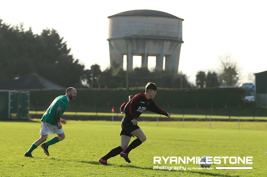 EVENT:<br /> TSDL Premier Division<br /> Peake Villa v Clonmel Celtic<br /> Sunday 12th January 2020<br /> Tower Grounds, Thurles, Co Tipperary<br /> <br /> CAPTION:<br /> A general view of the match<br /> <br /> Photo By: Michael P Ryan