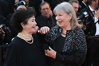 MARIE-JOSE NAT AND MARINA VLADY - RED CARPET OF THE CLOSING CEREMONY AT THE 70TH FESTIVAL OF CANNES 2017