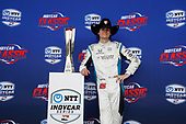 Colton Herta, Harding Steinbrenner Racing Honda trophy
