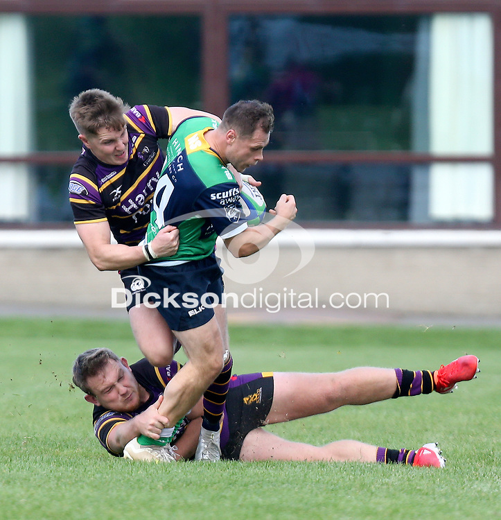 Saturday 25th September 2021<br /> <br /> Connor Phillips during the Ulster Conference League clash between Ballynahinch 2s and Instonians at Ballymacarn Park, Ballynahinch, County Down, Northern Ireland. Photo by John Dickson/Dicksondigital