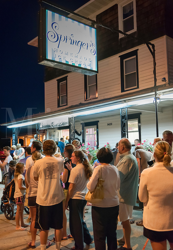 Springer's Ice Cream shop, Stone Harbor, New Jersey, USA