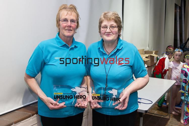 BBC Wales Unsung Hero Award 2015<br /> Conwy Valley Swimming Pool<br /> Llanrwst<br /> 22.10.15<br /> Photo: Pradip Kotecha - SPORTINGWALES