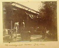 BNPS.co.uk (01202) 558833<br /> Pic: Charles Miller/BNPS<br /> <br /> Morning wash<br /> <br /> A fascinating photo album compiled by a British naval officer on tour in the Far East at the turn of the 20th century has come to light.<br /> <br /> Taprell Dorling served on the HMS Terrible in 1900 at the start of an over 30 year career at sea.<br /> <br /> The album, containing 74 photos, has emerged for sale with auctioneers Charles Miller, of London, with an estimate of £3,000.
