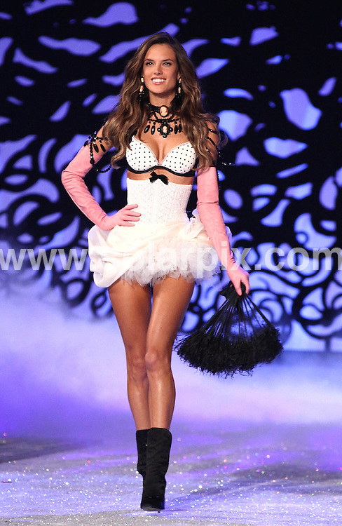**ALL ROUND PICTURES FROM SOLARPIX.COM**                                             **SYNDICATION RIGHTS FOR UK, AUSTRALIA, DENMARK, PORTUGAL, S. AFRICA, SPAIN & DUBAI (U.A.E) & ASIA (EXCLUDING JAPAN) ONLY**                                                                                  Caption: 2011 Victoria's Secret Fashion Show  Runway and Performance at Lexington Avenue Armory in New York City, NY, USA                                                                               This pic:  Alessandra Ambrosio                                                                                       JOB REF:14174        PHZ/Mayer       DATE:09.11.2011                                                            **MUST CREDIT SOLARPIX.COM OR DOUBLE FEE WILL BE CHARGED**                                                                      **MUST AGREE FEE BEFORE ONLINE USAGE**                               **CALL US ON: +34 952 811 768 or LOW RATE FROM UK 0844 617 7637**