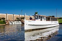 Oklahoma City, Oklahoma, USA.  Oklahoma River Cruise Boat.