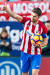Gabriel Fernandez Arenas, Gabi, of Atletico de Madrid gives a thumb-up during their La Liga match between Atletico de Madrid and FC Barcelona at the Santiago Bernabeu Stadium on 26 February 2017 in Madrid, Spain. Photo by Diego Gonzalez Souto / Power Sport Images