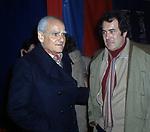 ALBERTO MORAVIA CON BERNARDO BERTOLUCCI