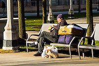 Various images of the city of Chicago and it's citizens Homeless people as seen on the streets of Chicago, Illinois.