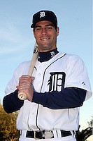 Feb 21, 2009; Lakeland, FL, USA; The Detroit Tigers infielder Scott Sizemore (72) during photoday at Tigertown. Mandatory Credit: Tomasso De Rosa/ Four Seam Images