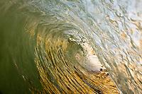 Looking through the tube at Gaviota state beach