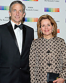 Renee Fleming and her husband, Tim Jessel, arrive for the formal Artist's Dinner honoring the recipients of the 38th Annual Kennedy Center Honors hosted by United States Secretary of State John F. Kerry at the U.S. Department of State in Washington, D.C. on Saturday, December 5, 2015. The 2015 honorees are: singer-songwriter Carole King, filmmaker George Lucas, actress and singer Rita Moreno, conductor Seiji Ozawa, and actress and Broadway star Cicely Tyson.<br /> Credit: Ron Sachs / Pool via CNP