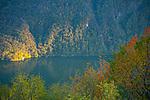 Lago di Lugano, Ticino, Switzerland, November 2014.