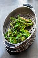 Gastronomie générale :  Pousses de Brocolis sauvage  // General gastronomy: Wild Broccoli sprouts