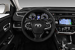 Car pictures of steering wheel view of a 2018 Toyota Avalon XLE Premium 4 Door Sedan Steering Wheel