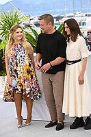 CANNES, FRANCE. July 9, 2021: Abigail Breslin, Matt Damon & Camille Cottin at the Stillwater photocall at the 74th Festival de Cannes.<br /> Picture: Paul Smith / Featureflash