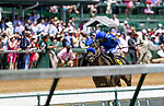April 30, 2021 : Maxfield, #6, ridden by jockey Jose L. Ortiz, wins the Alysheba Graded Stakes on Kentucky Oaks Day at Churchill Downs on April 30, 2021 in Louisville, Kentucky. Carlos Calo/Eclipse Sportswire/CSM