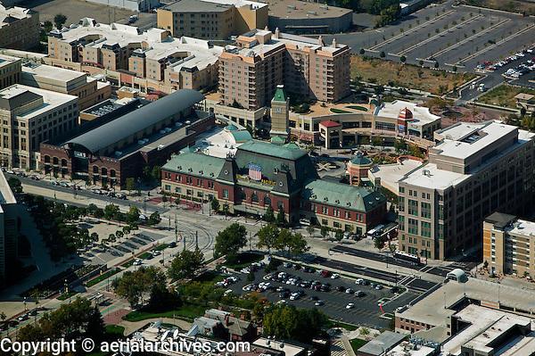 aerial photograph Union Pacific Depot Salt Lake City, Utah