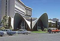 Las Vegas: La Concha Motel. Boomerang Baroque style? Photo '79.