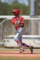 St. Louis Cardinals Oscar Mercado (11) during a minor league spring training game against the Miami Marlins on March 31, 2015 at the Roger Dean Complex in Jupiter, Florida.  (Mike Janes/Four Seam Images)