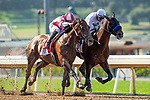 May 31 2021: #2 Country Grammer and jockey Flavien Prat outduel Royal Ship (BRZ) and jockey Mike Smith to win the Grade 1 Hollywood Gold Cup at Santa Anita Park in Arcardia California. Alex Evers/Eclipse Sportswire/CSM
