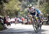Jan Bakelants (BEL/Intermarché - Wanty - Gobert)<br /> <br /> Stage 1 from Lido di Camaiore to Lido di Camaiore (156km)<br /> <br /> 56th Tirreno-Adriatico 2021 (2.UWT) <br /> <br /> ©kramon
