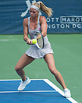 July  19, 2016:  Camila Giorgi (ITA) defeated Eugenie Bouchard (CAN) 7-5, 6-4, at the Citi Open being played at Rock Creek Park Tennis Center in Washington, DC.  ©Leslie Billman/Tennisclix/CSM