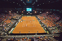 September 13, 2014, Netherlands, Amsterdam, Ziggo Dome, Davis Cup Netherlands-Croatia, Overall<br /> Photo: Tennisimages/Henk Koster