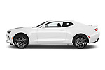 Car Driver side profile view of a 2016 Chevrolet Camaro 2SS 2 Door Coupe Side View