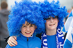 St Johnstone v Dundee United....17.05.14   William Hill Scottish Cup Final<br /> Fans Oliver Cameron (left) and Cameron Coutts<br /> Picture by Graeme Hart.<br /> Copyright Perthshire Picture Agency<br /> Tel: 01738 623350  Mobile: 07990 594431