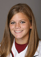STANFORD, CA - NOVEMBER 3:  Ashley Hansen of the Stanford Cardinal softball team poses for a headshot on November 3, 2008 in Stanford, California.