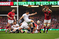 Pictured: Ben Youngs of England in action during the Guinness six nations match between Wales and England at the Principality Stadium, Cardiff, Wales, UK.<br /> Saturday 23 February 2019