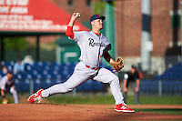 Reading Fightin Phils relief pitcher John Richy (45) during a game against the Portland Sea Dogs on May 31, 2016 at Hadlock Field in Portland, Maine.  Reading defeated Portland 6-4.  (Mike Janes/Four Seam Images)