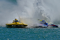 """Frame 27: Andrew Tate, H-300 """"Pennzoil"""", Donny Allen, H-14 """"Legacy 1""""       (H350 Hydro)"""