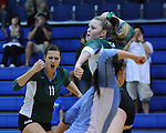 Tulane Women's Volleyball defeat Marshall 3-2 in a match played at Fogelman Arena.