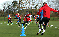 Pictured: Nathan Dyer (C) Wednesday 10 December 2014<br />