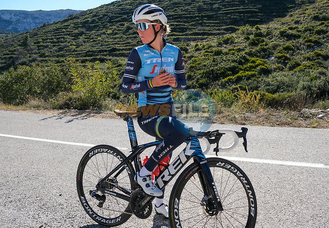 Amalie Dideriksen (DEN) Trek–Segafredo 2021 mens and womens team during their winter training camp. 18th January 2021.<br /> Picture: Trek Factory Racing   Cyclefile<br /> <br /> All photos usage must carry mandatory copyright credit (© Cyclefile   Trek Factory Racing)