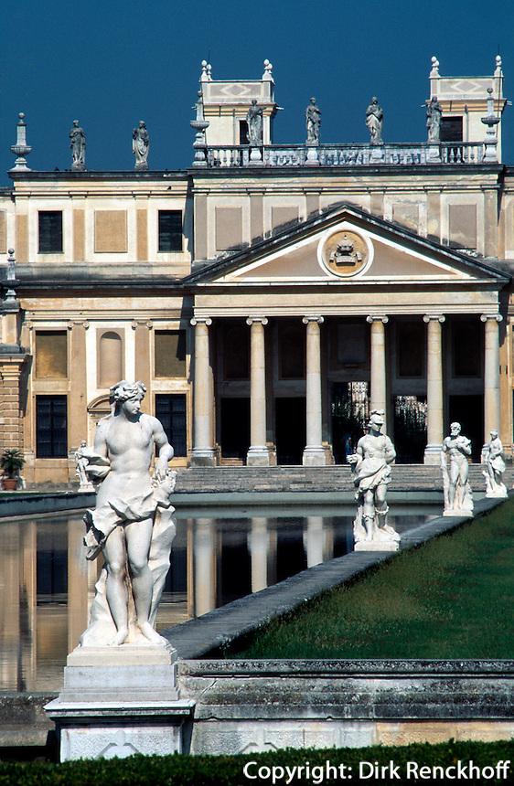 Villa Pisani in Strà, Venetien, Italien