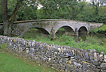 Burnside Bridge, scene of Civil War battle on September 17, 1862, Antietam National Battlefield, Sharpsburg, Maryland, USA