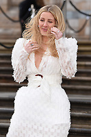 """Ellie Goulding<br /> arriving for the world premiere of """"Our Planet"""" at the Natural History Museum, London<br /> <br /> ©Ash Knotek  D3491  04/04/2019"""