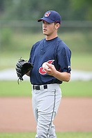 March 20th 2008:  Chris Jones of the Cleveland Indians minor league system during Spring Training at Chain of Lakes Training Complex in Winter Haven, FL.  Photo by:  Mike Janes/Four Seam Images