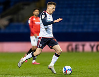 Bolton Wanderers' Tom White breaks <br /> <br /> Photographer Andrew Kearns/CameraSport<br /> <br /> The EFL Sky Bet League Two - Bolton Wanderers v Salford City - Friday 13th November 2020 - University of Bolton Stadium - Bolton<br /> <br /> World Copyright © 2020 CameraSport. All rights reserved. 43 Linden Ave. Countesthorpe. Leicester. England. LE8 5PG - Tel: +44 (0) 116 277 4147 - admin@camerasport.com - www.camerasport.com