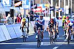 Mads Pedersen (DEN) Trek-Segafredo wins the 73rd edition of Kuurne-Brussel-Kuurne 2021 running 197km from Kuurne to Kuurne, Belgium. 28th February 2021  <br /> Picture: Serge Waldbillig | Cyclefile<br /> <br /> All photos usage must carry mandatory copyright credit (© Cyclefile | Serge Waldbillig)