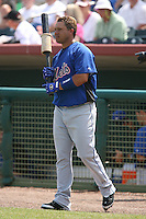 March 16th 2008:  Argenis Reyes of the New York Mets during a Spring Training game at Osceola County Stadium in Kissimmee, FL.  Photo by:  Mike Janes/Four Seam Images