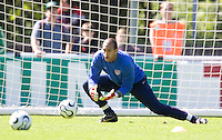 USA Goalkeeper Tim Howard during training in Hamburg, Germany, for the 2006 World Cup, June, 6, 2006.