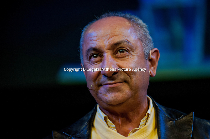 Thursday  29 May 2014, Hay on Wye, UK<br /> Pictured: Osvaldo Ardiles<br /> Re: The Hay Festival, Hay on Wye, Powys, Wales UK.