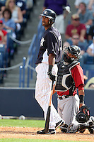 New York Yankees Eduardo Nunez #67 during a Spring Training game vs the Houston Astros at George M. Steinbrenner Field in Tampa, Florida;  March 2, 2011.  New York defeated Houston 6-5.  Photo By Mike Janes/Four Seam Images