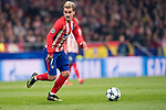 Antoine Griezmann of Atletico de Madrid runs with the ball during the UEFA Champions League 2017-18 match between Atletico de Madrid and AS Roma at Wanda Metropolitano on 22 November 2017 in Madrid, Spain. Photo by Diego Gonzalez / Power Sport Images