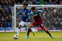 Andre Gomes of Everton and Felipe Anderson of West Ham United during the Premier League match between Everton and West Ham United at Goodison Park on October 19th 2019 in Liverpool, England. (Photo by Daniel Chesterton/phcimages.com)<br /> Foto PHC/Insidefoto <br /> ITALY ONLY